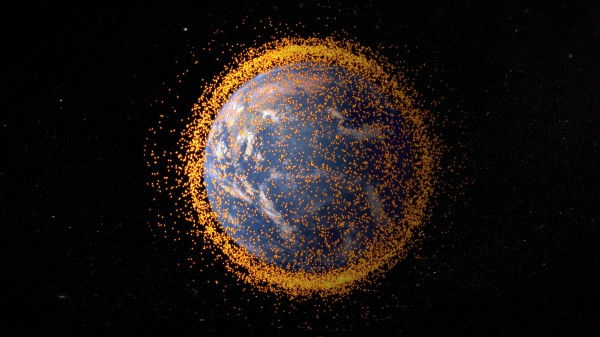 Debris Orbiting Earth