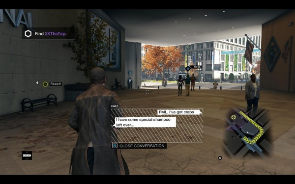 Watch Dogs Review Screenshot Wallpaper FML Crabs