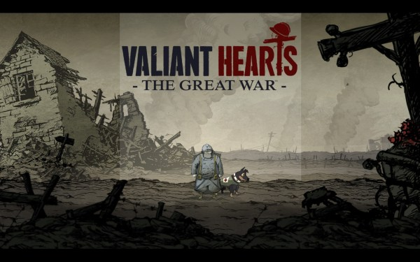 Valiant Hearts Review Screenshot Wallpaper Title Screen