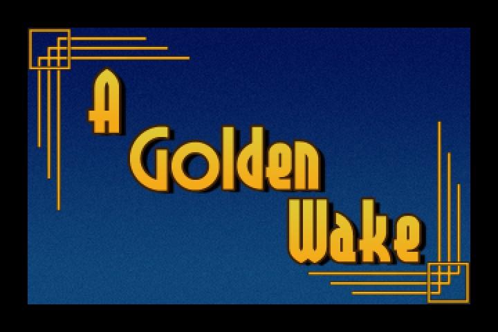 A Golden Wake Review Screenshot Wallpaper Title Screen