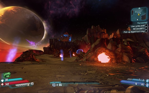 Borderlands The Pre Sequel Review Screenshot Wallpaper Pandroa's Moon