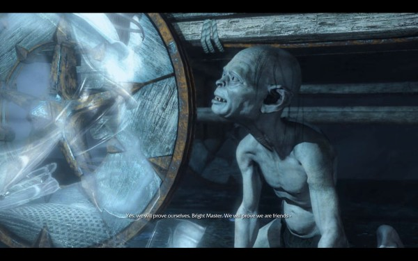 Middle Earth Shadows of Mordor Review Screenshot Wallpaper Gollum