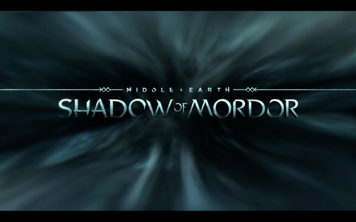 Middle Earth Shadows of Mordor Review Screenshot Wallpaper Title Screen