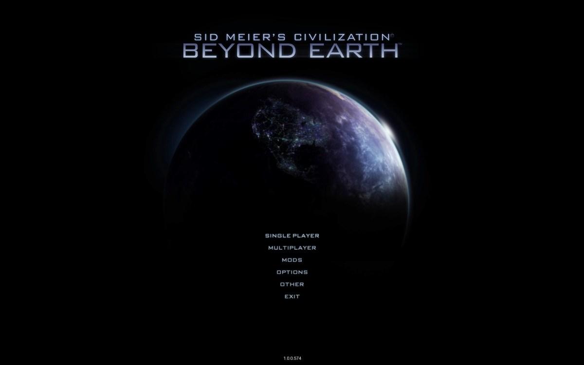 Civilization Beyond Earth Screenshot Wallpaper Title Screen