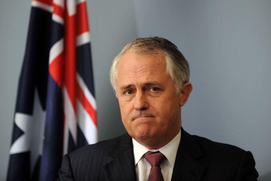 Sad Malcolm Turnbull