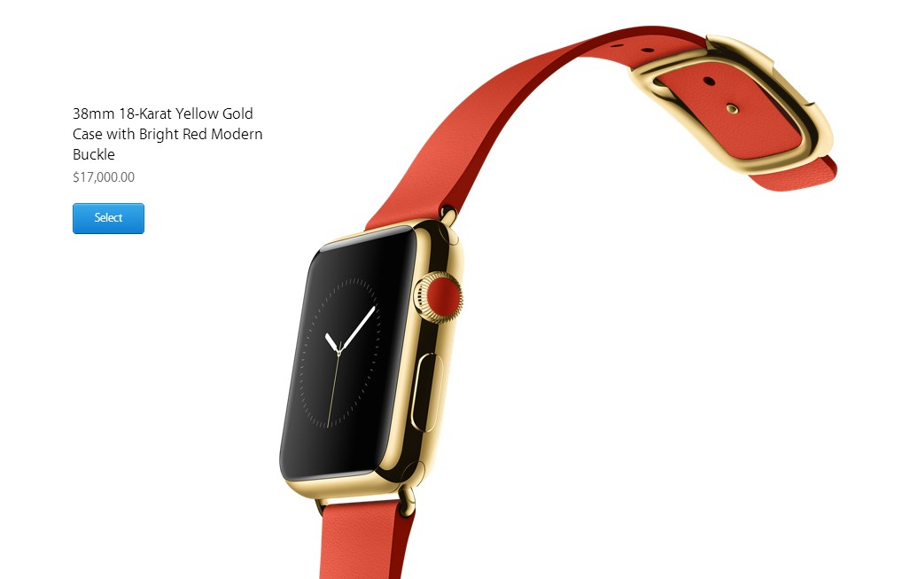 Apple iWatch $17000