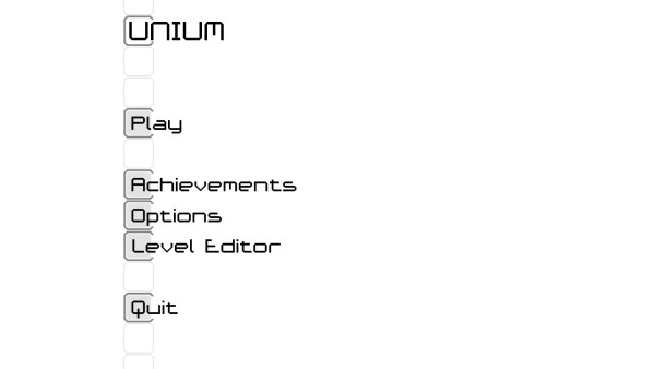 Unium Review Screenshot Wallpaper Title Screen