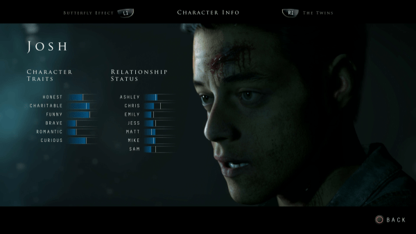 Until Dawn Review Screenshot Wallpaper Who Are You