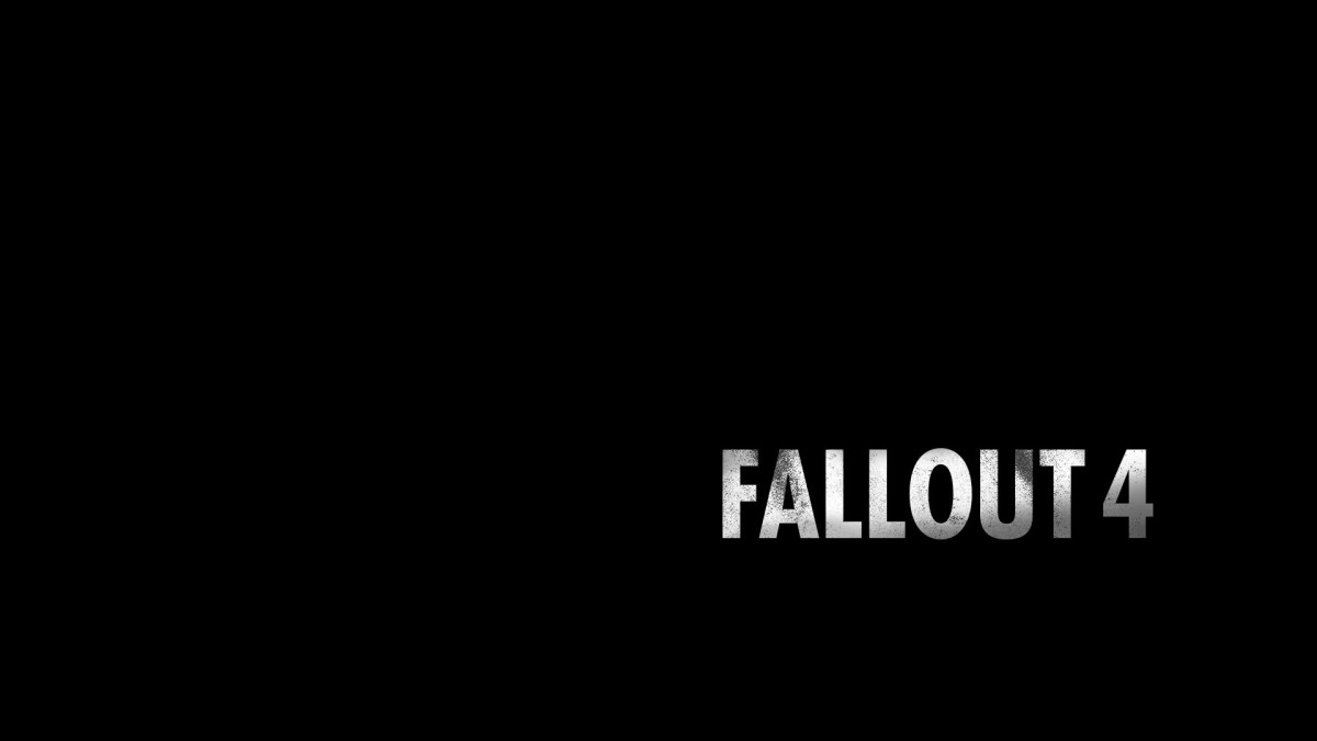 Fallout 4 Review Screenshot Wallpaper Title Screen