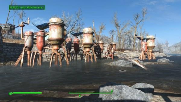 Fallout 4 Review Screenshot Wallpaper Water Farming