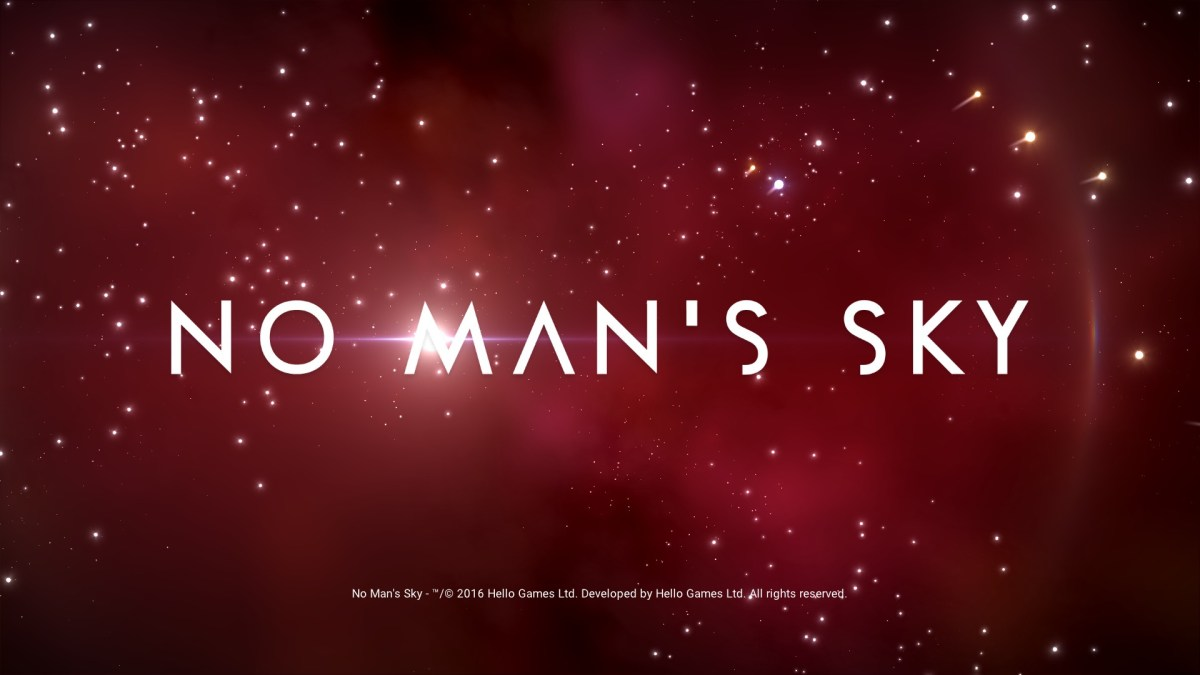 No Man's Sky Review Screenshot Wallpaper Title Screen