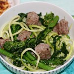 Zoodles With Sausage And Broccoli Rabe