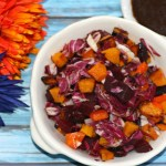 Purple And Orange Longevity Salad