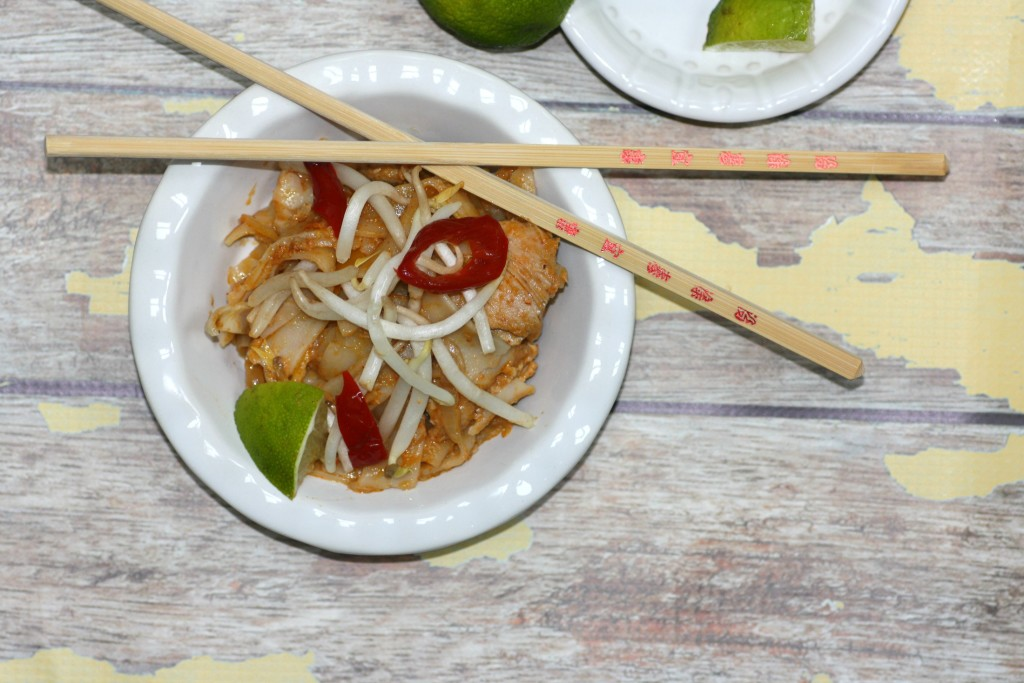 Thai Chicken And Noodles1