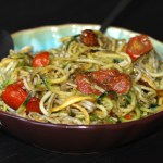 Grain-Free Spaghetti With Pesto