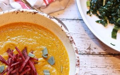 butternut squash soup w kale overhead-1