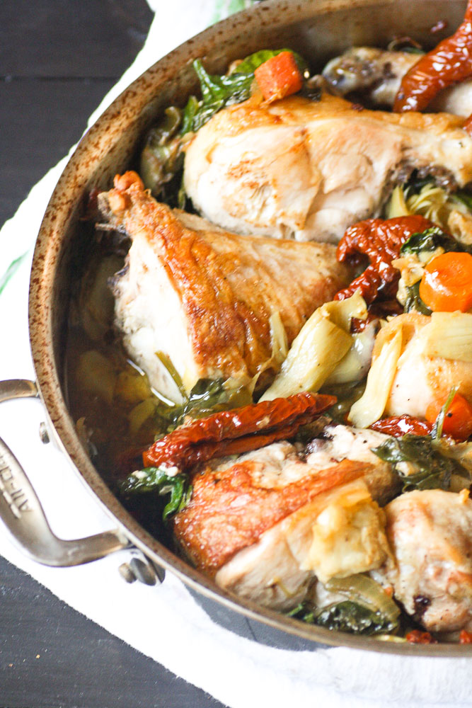 Chicken With Artichokes And Sun Dried Tomatoes | There's A ...