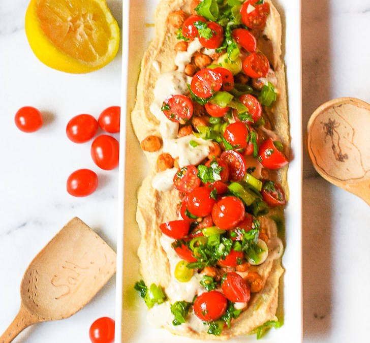 Vegetable Hummus Dip