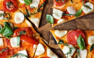 paleo pizza margherita