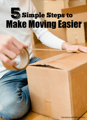 5 Simple Steps to Make Moving Easier