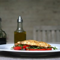 Parmesan Pepper Crusted Chicken
