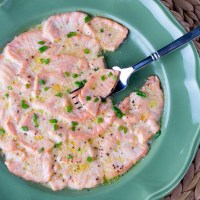 Two-Minute Salmon Scallopini