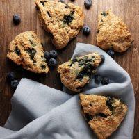 blueberry scones.