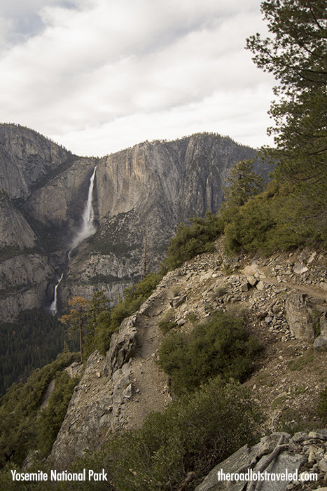 Yosemite National Park Four Mile Trail The Road Lots Traveled - Higher elevation