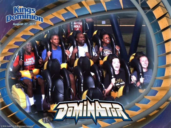 Kings Dominion Dominator Roller Coaster