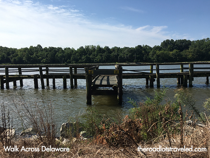 Dock in the Chesapeake and Delaware Canal