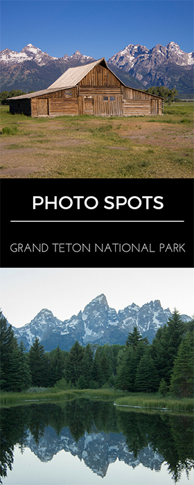 Grand Teton National Park Photo Spots