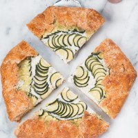 Rustic Zucchini and Ricotta Galette and Tales From Kenya