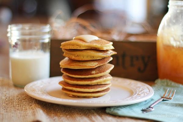 Paleo Cornbread Pancakes