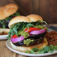 The Ultimate Grilled Portobello Burger