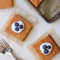 Paleo Vanilla Sheet Cake