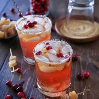 Cranberry Dark and Stormy