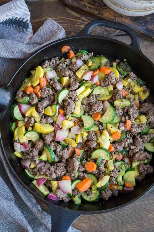 Shapely Ground Beef Vegetable Bell Peppers Keto Recipe Ground Beef Zucchini Ground Beef Skillet Roasted Root Keto Recipes Ground Beef Skillet Ingredients Make This Nutritious Meala This Vegetable