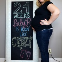 24 Weeks Pregnant with Baby R