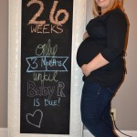 26 Weeks Pregnant with Baby R