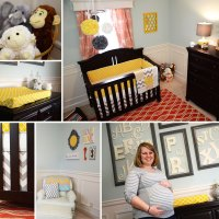 Baby R's Modern Gender Neutral Nursery