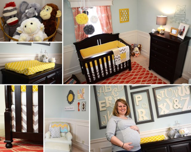 baby r 39 s modern gender neutral baby nursery the rodimels family blog. Black Bedroom Furniture Sets. Home Design Ideas