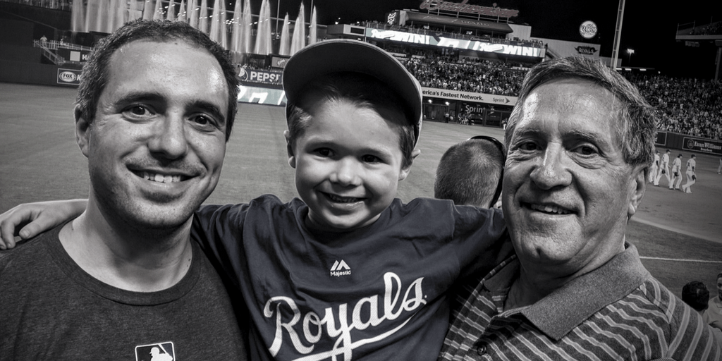 Baseball: Bringing Three Generations Of A Family Together