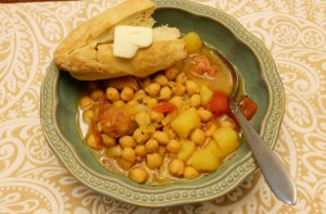 Mom's Spanish Bean Soup