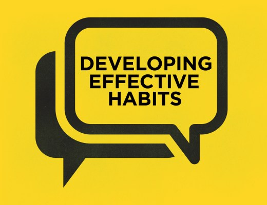 Developing Effective Habits