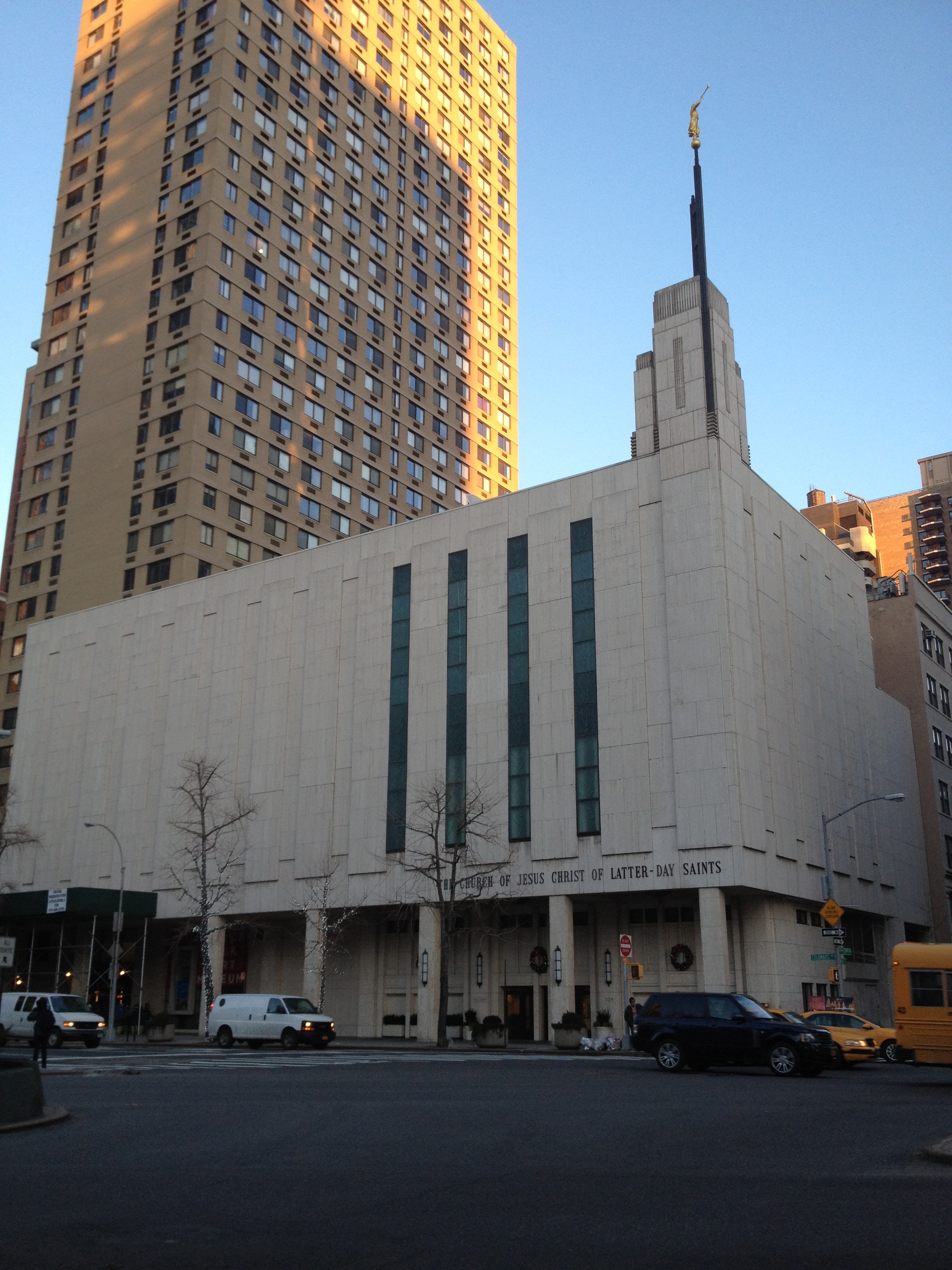 Manhattan New York Lds Temple The Salty Mountains