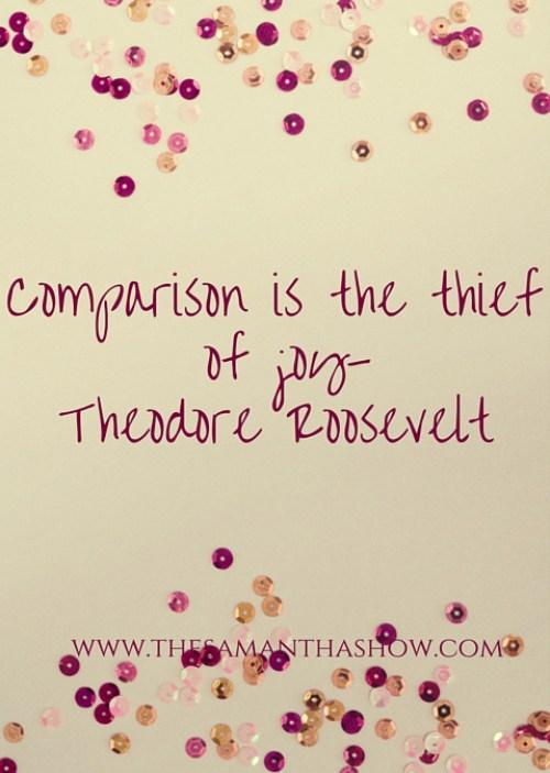 comparisonisthethiefofjoy