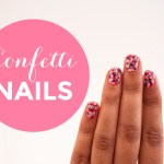 Confetti Nails – How To