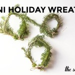 Mini Holiday Wreaths