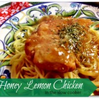 Honey Lemon Chicken in the Slow Cooker