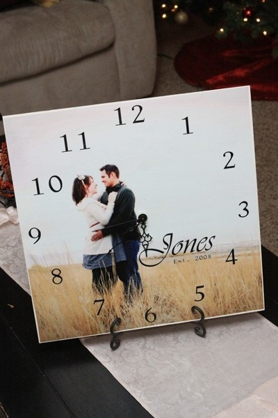 DIY picture clock